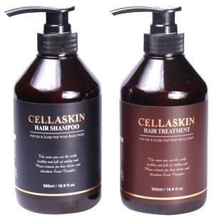 CELLASKIN HAIR SHAMPOO&HAIR TREATMENT